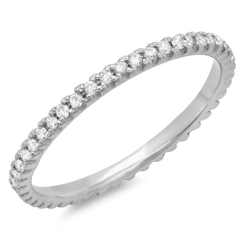 PMI 14W@1.00 45RD1@0.25 SIZE-5 ETERNITY BAND