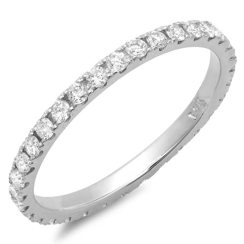 PMI 14W@1.3 33RD1@0.59 SIZE6.75 DIAMOND ETERNITY BAND