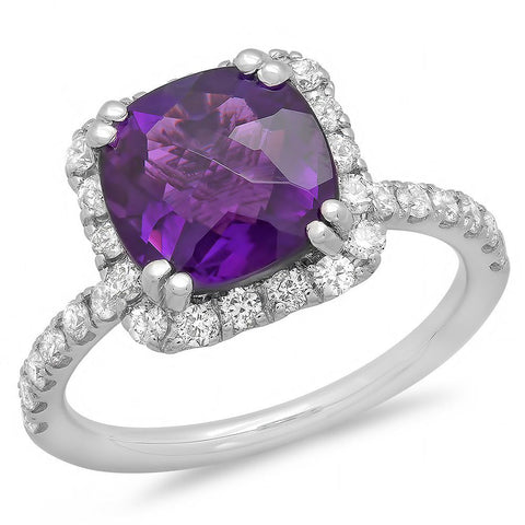 PMI 14W@3.90 32RD2@0.61 1AM@2.85 AMETHYST RING