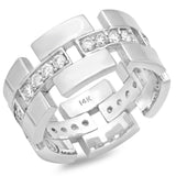 PMI 14W@7.7 24RD1@0.66 SIZE5.75 MEN'S DIAMOND RING