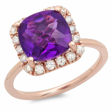 PMI 14R@3.5 18RD1@0.35 1AM@3.04 AMETHYST RING