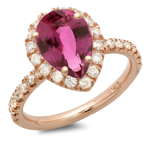 PMI 14R@3.50 30RD1@0.77 1PSAP@2.15 PINK SAPPHIRE RING