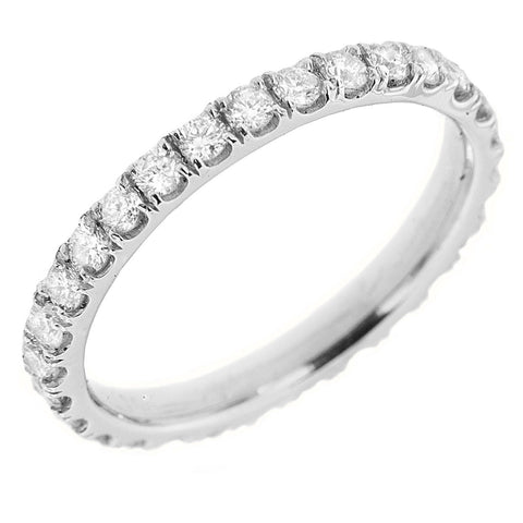 PMI 14W@2.0 29RD2@0.85 SIZE6.5 ETERNITY DIAMOND RING