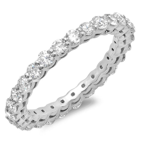 PMI 14W@1.9 27RD@1.11 SIZE4.5 ETERNITY DIAMOND BAND