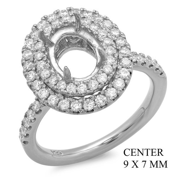 PMI 14W@6.5 60RD1@0.78 9X7MM OVAL DOUBLE HALO