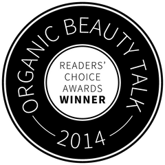 Organic Beauty Talk Award Winner 2014