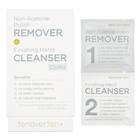 TENOVERTEN Non-Acetone Polish Remover and Finishing Hand Cleanser