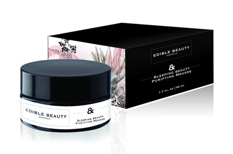 Edible Beauty Sleeping Beauty Purifying Mousse