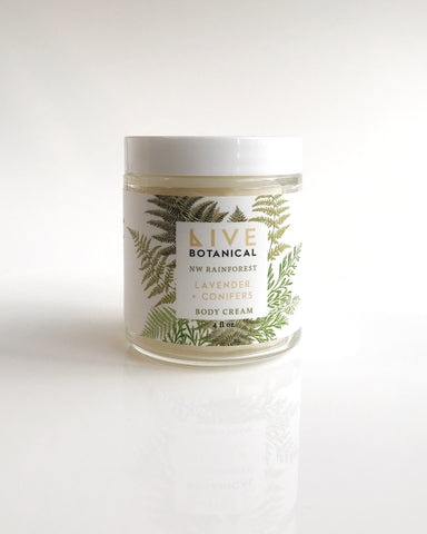 Live Botanical NW Rainforest Body Cream