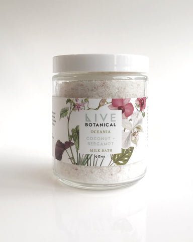 Live Botanical Oceania Coconut Milk Bath