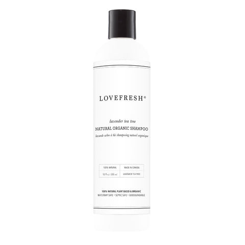 LOVEFRESH Natural Organic Shampoo