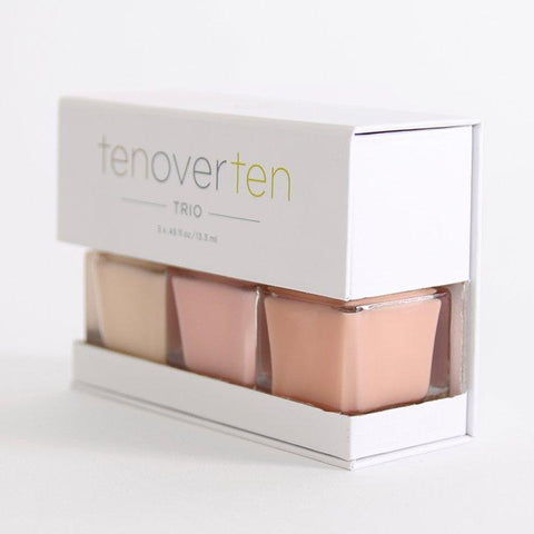 TENOVERTEN Perfect Neutrals Nail Polish Set