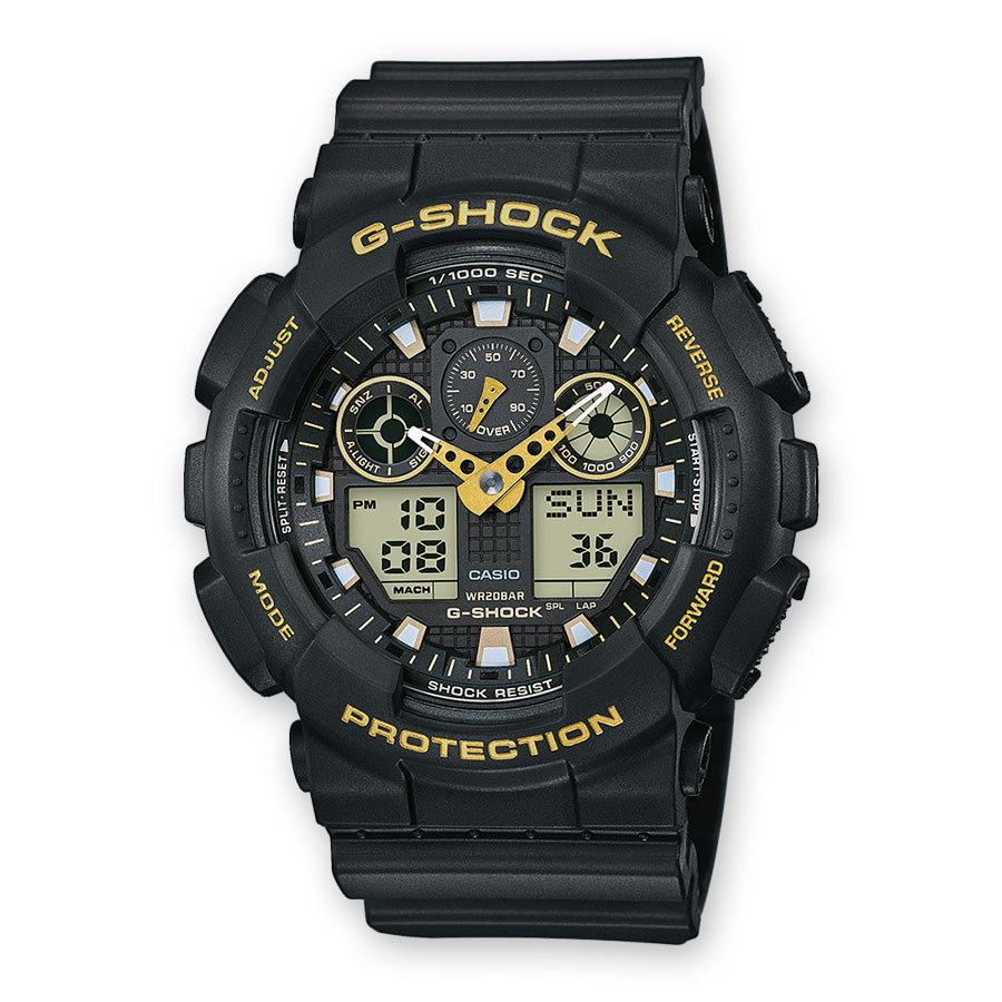 Casio G-Shock GA-100GBX-1A9ER - Cardell Watch Store