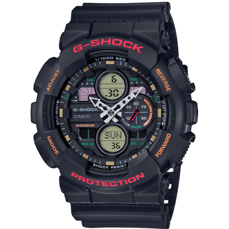 Casio G-Shock GA-140-1A4ER - Cardell Watch Store