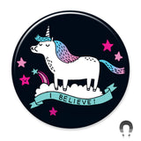 I Believe! Unicorn Big Magnet