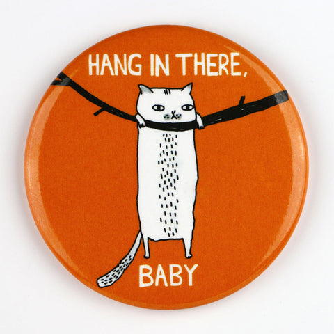 Hang In There Baby Cat Magnet