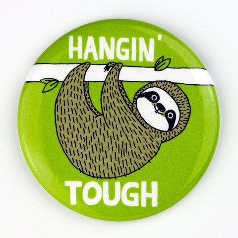 Hangin' Tough Sloth Magnet