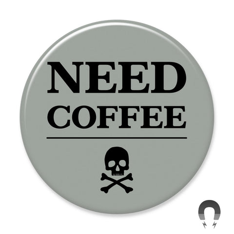Seltzer Goods Coffee Magnet by Badge Bomb