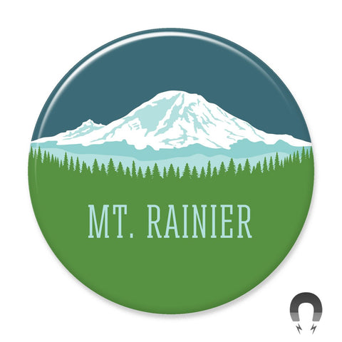Mt Rainier Big Magnet