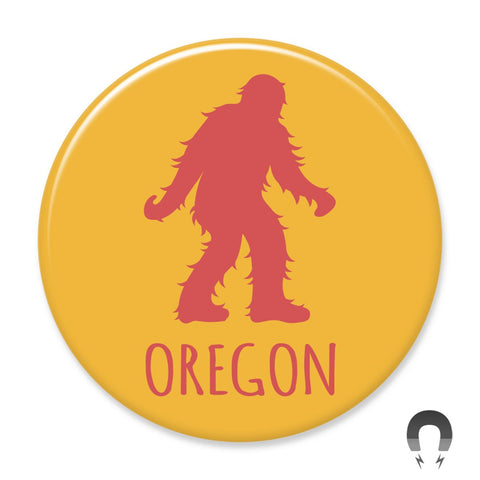 Oregon Sasquatch Big Magnet by Hey Darlin'