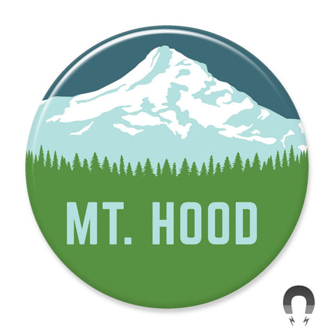 Mt. Hood Magnet by Hey Darlin'