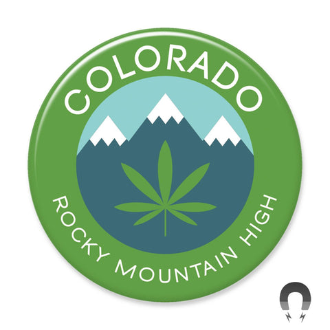 Rocky Mountain High Magnet by Hey Darlin'