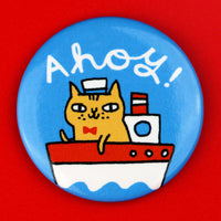 Ahoy! Cat Big Magnet