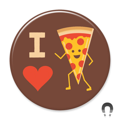 I Heart Pizza Big Magnet by Crossroads Creative