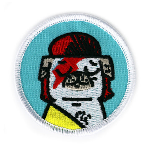 Glam Rock Pug Patch