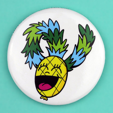 Happy Pineapple Magnet