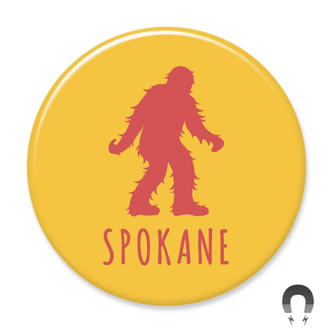 Spokane Sasquatch Big Magnet