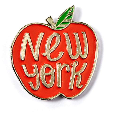 New York Apple Enamel Pin