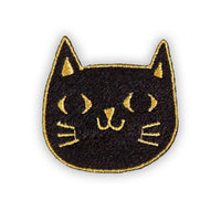 Black Cat Felt Patch
