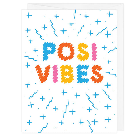 Posi Vibes A2 Card