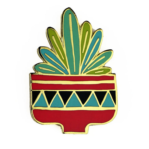 Desert Flower Enamel Pin