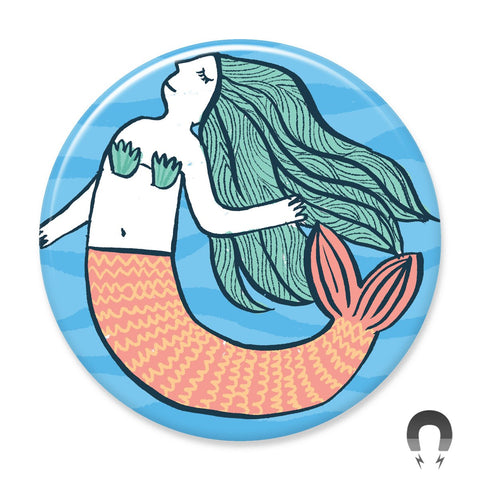Mermaid Big Magnet