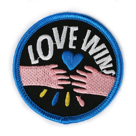 Love Wins Hands Patch