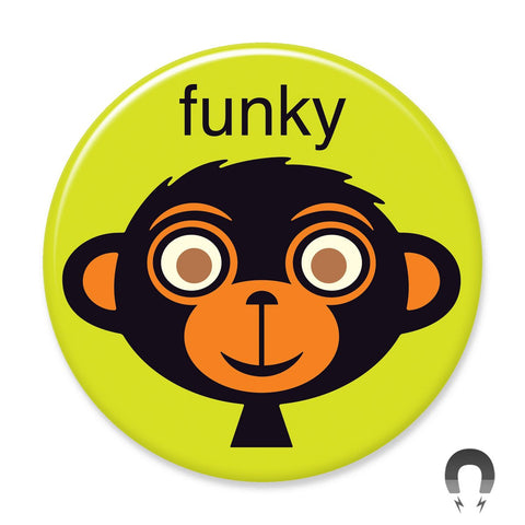 Funky Monkey Big Magnet