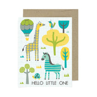 Hello Little One A2 Card