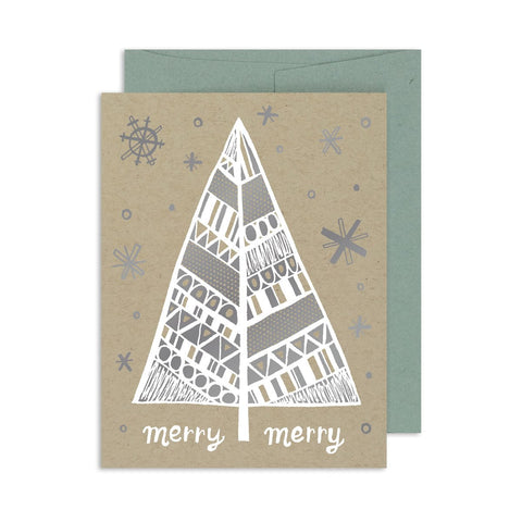 Merry Merry Tree A2 Card