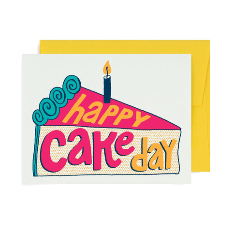 Happy Cake Day A2 Card