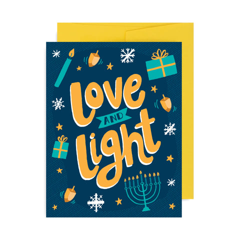 Love and Light A2 Card