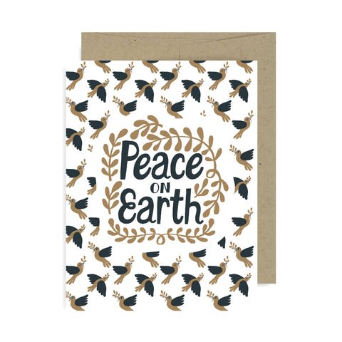 Peace on Earth A2 Card