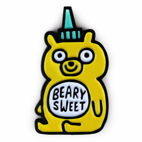 Beary Sweet Enamel Pin