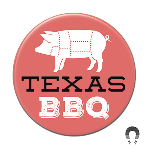 Texas BBQ Big Magnet