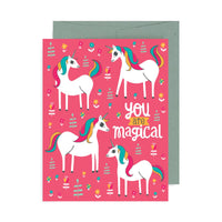 You Are Magical Unicorn A2 Card