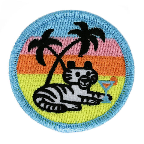 Cocktail Tiger Patch