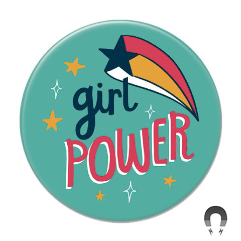 Girl Power Big Magnet