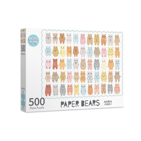 Paper Bears Jigsaw Puzzle