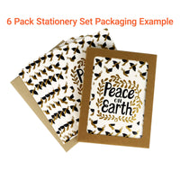 Peace on Earth Sweater Pets A2 Card